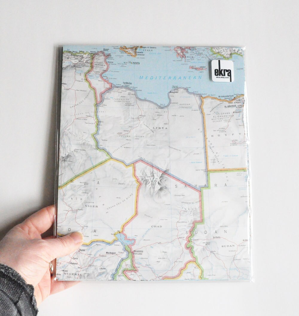 Map Paper Pack Wedding DIY Decorations Travel Themed Wedding 15 ...