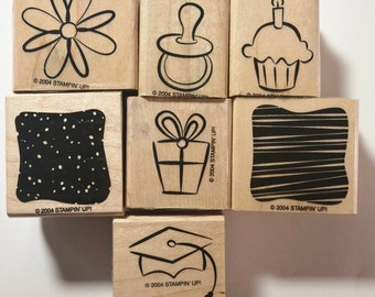 Stampin Up Little Layers Plus Hostess Set 2004