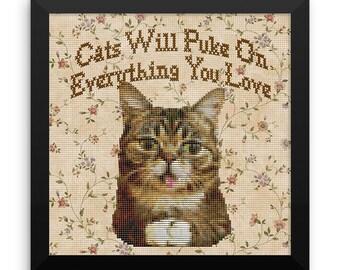 Cats Will Puke...