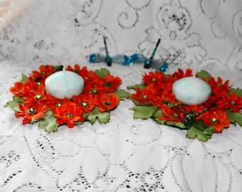 Springtime Centerpieces..Dragonfly Home Decor..Summertime Home Decor