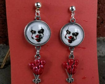 Pennywise dangling earrings your choice new or old