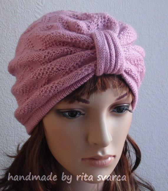 chapeau turban tricot femmes turban nou devant turban de. Black Bedroom Furniture Sets. Home Design Ideas