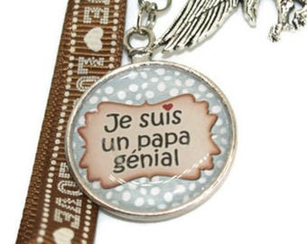Keychain for Dad - dad - father gift idea - father's day - birthday - father gift - dad wears