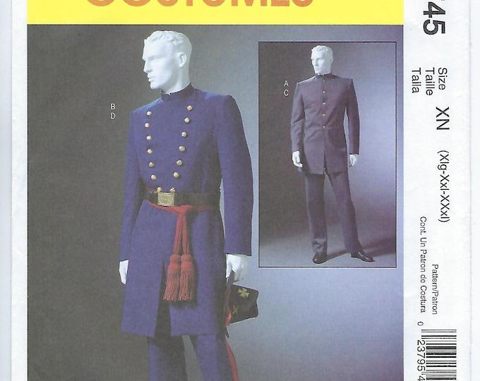 Featured listing image: McCalls 4745 (XN) - MENS Civil War Costumes / XLG, Xxl, Xxxl