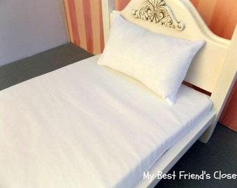 18 inch Doll Mattress Custom Set - 18 inch Doll Bedding