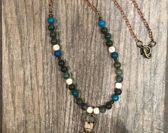 The Earth,Wind, and Sand Necklace