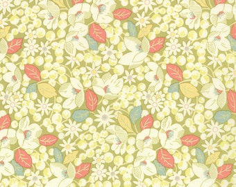 Strawberry Fields Revisited Fabric - One yard - Fig Tree & Co. - Moda Fabrics  - Stock No. 20265-12