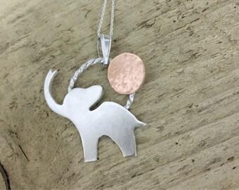Elvis the elephant pendant
