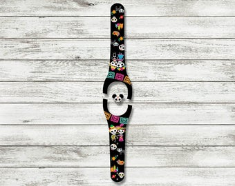 Día de Muertos MagicBand Decal | Day of the Dead Magic Band 1 or 2 Skin | RTS Ready To Ship | Available with Glitter or Glow in the dark