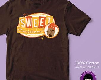 Luke Cage Sweet Christmas T-shirt | Jessica Jones | The Defenders | Daredevil