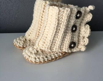 Baby Wrap Boots - Shoes - Booties