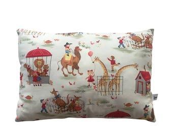 Cotton pillowcase 36 x 25cm in American cotton Michael Miller UNIQUE PIECE!