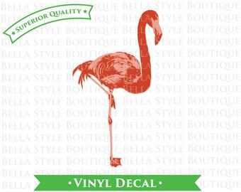 Flamingo VINYL DECAL