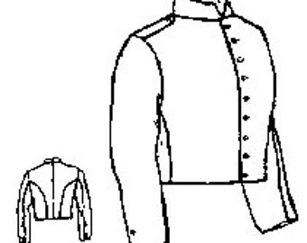 PI714 - Civil War Era Military Shell Jacket Sewing Pattern by Period Impressions