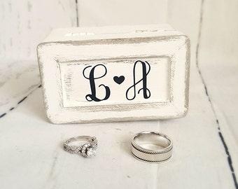 Wedding Ring Box / Ring Bearer/ Ring Box/ Flower Girl
