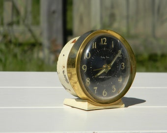 Vintage Westclox Baby Ben alarm clock Gold