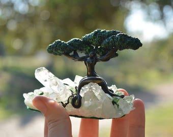 REDUCED Nymph, Tree woman, woman Tree, goddess sculpture, pachamama, mother earth, tree sculpture, divine feminine, sacred feminine,