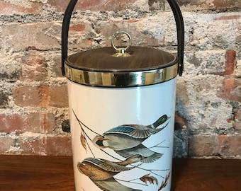 Mallard Ice Bucket - Mid-Century
