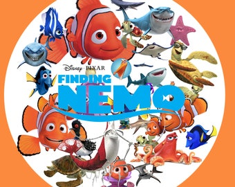 Finding Nemo ClipArt 35 PNG- Digital-ClipArt-image-PNG Images-Clip Art background-Scrapbooking-Instant Digital-Png