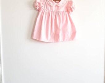 Vintage Pink Baby Dress