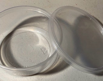 Durable Deli Containers, 8oz Containers for Slime, Emcoslimes