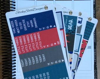 Pretty Little Liars Weekly Kit (109 Planner Stickers)