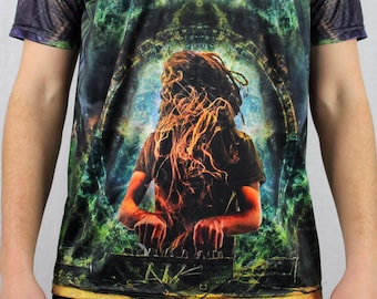Into The Vortex Full Dye Sublimated Shirt