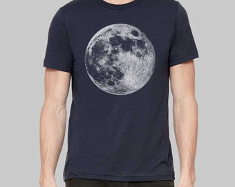 Moon Shirt Moon Graphic Tees for Men Mens Tshirt Graphic Tee Gift For Men Clothing T Shirt T Shirts For Men