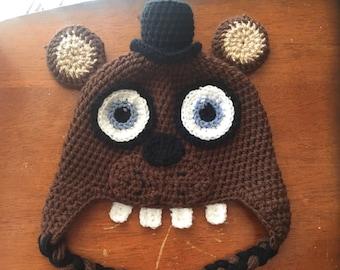 Freddy Beanie with earflaps