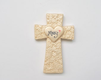 Christening or Baptism Personalized Crosses
