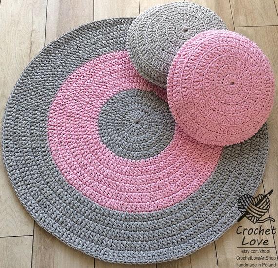 Moderne häkeln Teppich Runde häkeln Teppich Kinder-Teppich