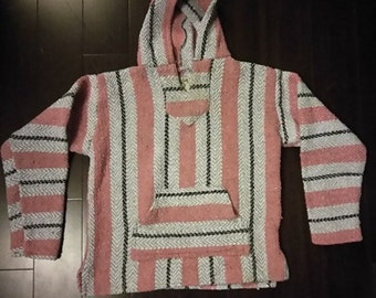 poncho sweater baja joe style jacket Bob Marley