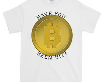 Have you been bit bitcoin Short-Sleeve T-Shirt