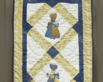 Sunbonnet Sue Marketday Wall Hanging Pattern
