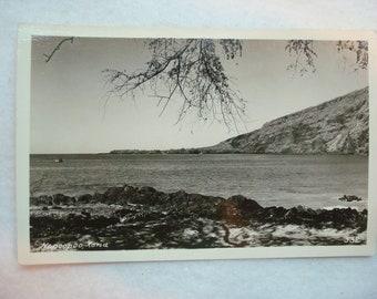 Vintage RPPC Napoopoo, Kona Hawaii