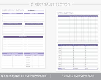 Direct Sales Planning Section