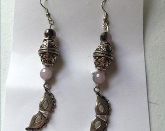 Masquerade drop earrings