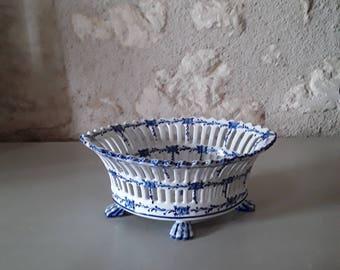 Porcelain french trinket bowl