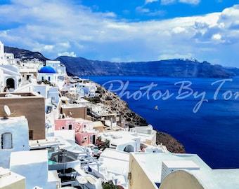 Santorini Digital Download