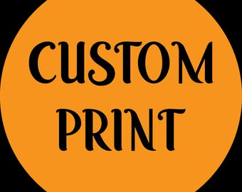 Custom Print - Need a design?  Poster, Graphic for a photo, Yearbook collage, Ad for Business?