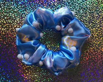 NEW!! Here Comes PETER COTTONTAIL Hair Scrunchie