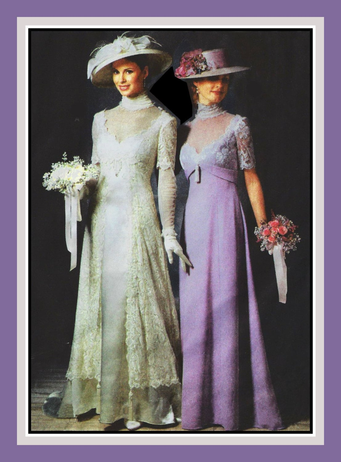 Titanic era gowns sewing pattern two styles matching zoom jeuxipadfo Gallery