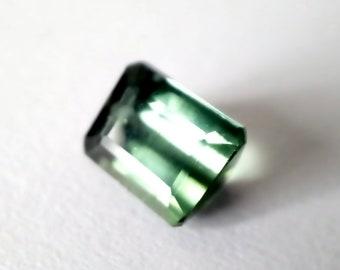 Natural Deep Forest GreenTourmaline 0.88 Ct loose gemstone