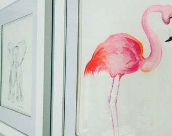 Bloom Studio safari animal watercolors