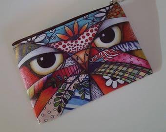 Buhos de bolsillo multicoloras