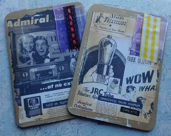 2 Mini Ephemera Booklets