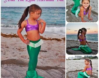 Ariel the little mermaid-  Swimmable Mermaid tail