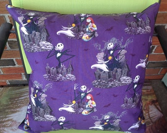 Nightmare Before Christmas Down Filled Pillow