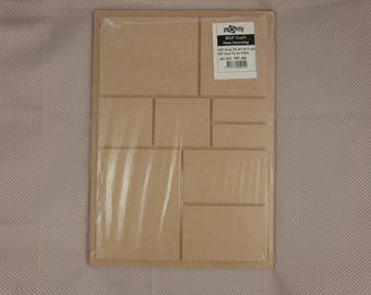 Wooden picture frame MDF blank scrapbooking