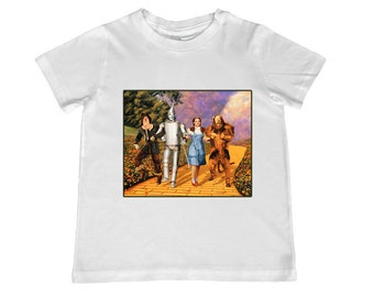 Wizard of Oz Yellow Brick Road Movie Image Tee -- personalization available - youth sizes 2T-4T, xs, s, m, l, xl